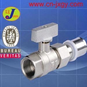 press fittings female theaded ball valve
