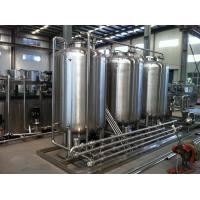 Buy cheap Semiauto CIP Cleaning System 500L Tank For Dairy / Beer / Beverage Processing Line product