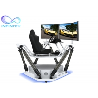 Quality Theme Park Competition 9D 3D Full View Vr Car Driving Simulator wholesale