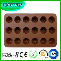 Quality Silicone Mini Cake Mold Muffin Pan Chocolate Mold Ice Candy Jelly Flower Shape wholesale