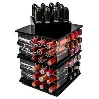 China Clear Plastic New acrylic Cosmetic Display Lipstick Stand Holder on sale