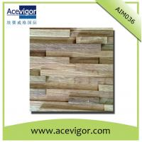 Quality Mosaic wood wall tiles with rustic surface wholesale