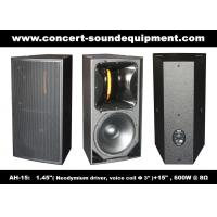 "Quality Nightclub Sound Equipment 15"" Full Range Speaker wholesale"