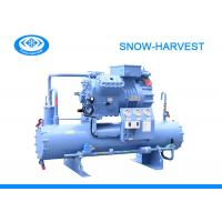 China High Efficiency Bitzer Water Cooled Condensing Unit Automatic Defrosting on sale