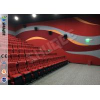 Cheap Real Feeling Large Screen Hd 3D Cinema System For Holding 40 People for sale