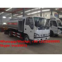 Quality 2018s YEAR-END PROMOTION! ISUZU mini 4*2 LHD 4-5m3 fuel bowser vehicle for sale, Wholesale price fuel tank truck wholesale