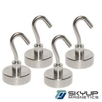 China Strong Neodymium Magnet Magnetic Hook Assembly used in home on sale