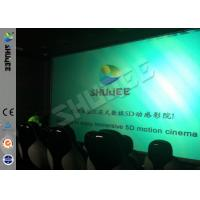 Quality Genuine Leather Convenient 6D Movie Theater With 3DOF Motion Chairs wholesale