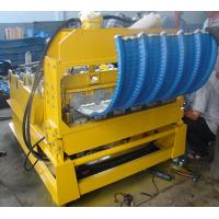 Quality 0 - 12m/min High Speed PLC Control Roof Crimping Curved Machine for Roof Curving wholesale