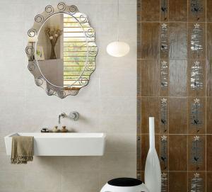 Quality Large Custom Oval Bathroom Wall Mirrors Frameless 80% Float Glass wholesale