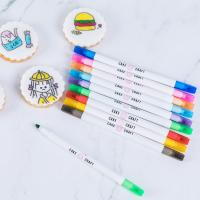 Quality Food Decorating Edible Marker Pen Thick And Fine Tip With Customized Logo wholesale