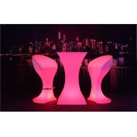 Quality Fireproof LED Sofa Waterproof Rechargeable 4 Flash Modes LED Cocktail Table wholesale