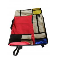 Quality 4K hand-held double-sided drawer bag stitching red and yellow blue multi-functional painting bag wholesale