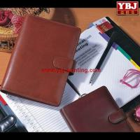 Quality china guangzhou ybj souvenir lovely custom printed leather cover note book wholesale