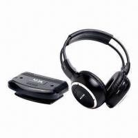 Buy cheap UHF 863MHz Wireless Headphone with Built-in Battery and Speakers from wholesalers