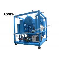 Quality High Vacuum Double Stage Transformer Oil Purifier System Machine,Used Insulation Oil Purifier wholesale