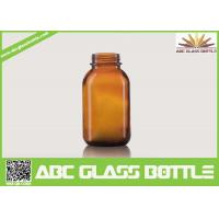 Quality Mytest 120ml Amber Syrup Glass Bottles wholesale