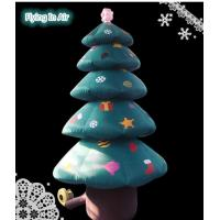 Quality 3m Height Indoor&Outdoor Christmas Tree Decorative Christmas Inflatable Tree wholesale