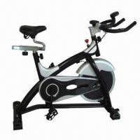 Quality Fitness gym exercise bike with deluxe PU hand supporters wholesale