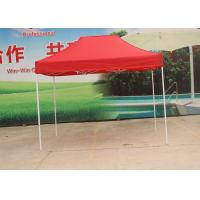 Quality Aluminum Frame Pop Up Market Tent Heat Transfer Print For Promotional Display wholesale