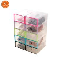 Quality Transparent Paper Gift Packaging Box Acrylic Material For Shoe Display wholesale