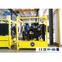China Cold Season Or Area Diesel Hydraulic Press Power Unit Self Heated Performance on sale