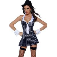 Quality The Capo Mobster Costume Adult Costumes for Carnival Christmas Halloween wholesale