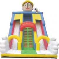 Quality multifunctional inflatable climbing slide, inflatable slide with climbing wall wholesale