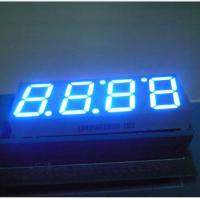 China Seven Segment Digital Clock Display With Black Face Color LB40566IBH0B on sale