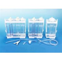 Cheap Portable Vacuum Drainage System Wound Care Double chamber 2500ml Fr16 Fr18 for sale