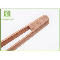 Quality Beech Wood House Kitchen Wares 30cm Small Kitchen Tongs For Ice Food Salah Picker wholesale