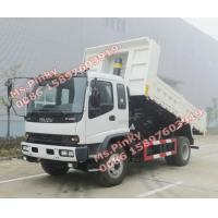 Quality China Suppliers 10Tons ISUZU Dump Truck, 8M3 ISUZU Tipper Truck, ISUZU Dump Tipper Trucks for sales wholesale