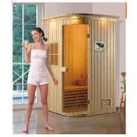 Quality Spruce Wood Sauna Cabin With Temperature and Moisture Meter (MY-2806) wholesale