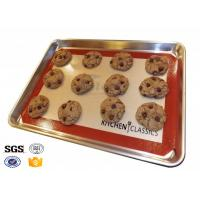 Quality Heavy Duty Oven Silicone Baking Sheet Dishwasher Safe 40cm X 50cm wholesale