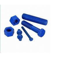 Quality Teflon finished hex bolts/stud bolts, available in 1/2- to 2-inch size wholesale