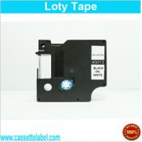 China Laminated Adhesive Compatible Dymo D1 Label Tapes 45013 on sale