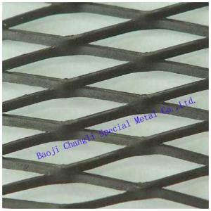 China Titanium mesh plate on sale
