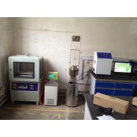 Quality EN ISO 1182 Non Combustibility Flammability Testing Equipment For Building Materials wholesale