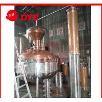 Quality Sight Glass Alcohol Moonshine Pot Still Distillation With Themometer wholesale
