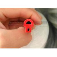 Silicone Bubble Seal Profiles;silicone gasket with bubble edge protection with
