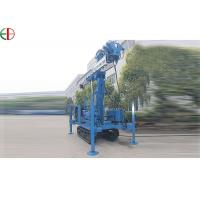 China Electric Full Hydraulic High Lift Water Well Drilling Rig For Multi Function on sale