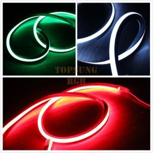 Quality square LED Strip RGB Neon Flex Rope Light Waterproof 220V Flexible Outdoor Lighting wholesale