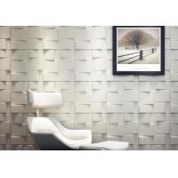 Cheap Green Square Wall Art 3D Wall Panels 3D Wall Board for Household Decoration Wall for sale