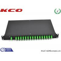 Quality Fiber Optic Rack Mount PLC Splitter wholesale
