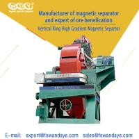 Quality Wet Type High Intensity Magnetic Separator Machine 380V 50HZ 10 - 40% Ore Density wholesale