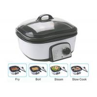 Slow Small Electric Multi Cooker Glass Cover With Stainless Steel Steamer Rack