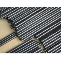 Quality small diameter carbon fiber tube roll wrapped process wholesale
