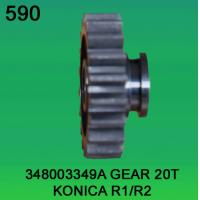 Quality 348003349A / 3480 03349A GEAR TEETH-20 FOR KONICA R1,R2 minilab wholesale