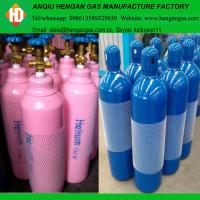 China High purity 99.999% helium gas in 40L 50L high pressure gas cylinder on sale
