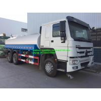 China Sinotruk Howo7 6x4 10 Wheels Water Tanker Lorry 20000L-30000L 336hp LHD on sale